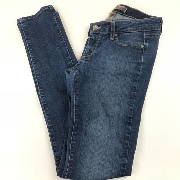 PAIGE Denim - Paige Womens Jeans Peg Skinny Denim Size 25 Dark
